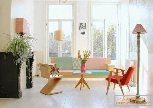 elegant de design-interior-in-pastel-culori