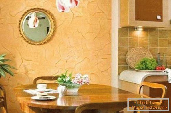 Modele Tencuiala Decorativa Interior.Tencuiala Decorativa In Bucatarie O Varietate De Tipuri Si