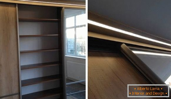 Built-in lumina led cabinet
